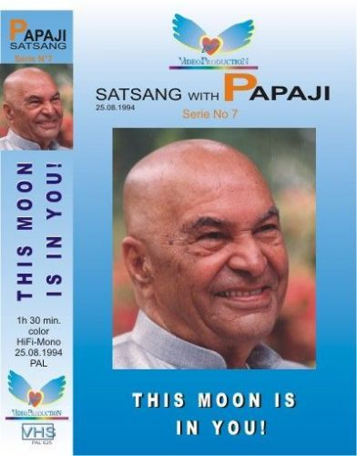 "07. Satsang with Poonjaji: ""This moon is in you"" 1994"