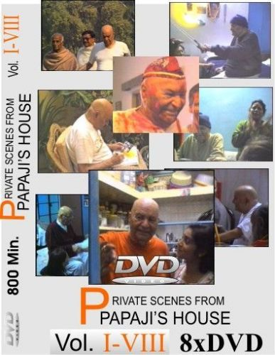 15. All 8 Private Scenes Volumes from Papaji´s house Vol.:1-8